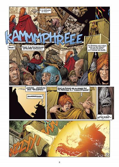 Page 6 les forêts d'opale tome 6 - le sortilège du pontife