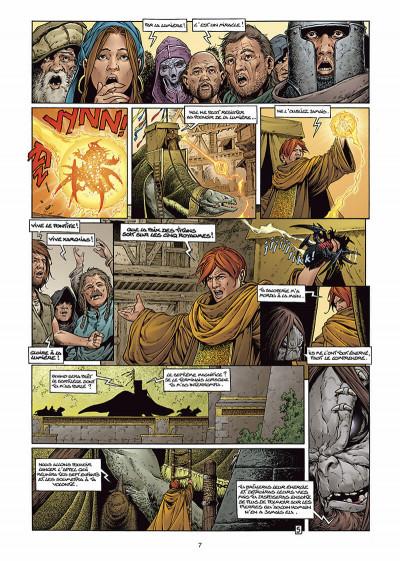 Page 7 les forêts d'opale tome 6 - le sortilège du pontife