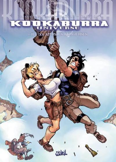 Couverture kookaburra universe tome 11 - l'île des amantes religieuses