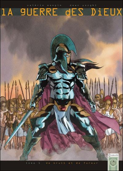 Couverture la guerre des dieux tome 1 - de bruit et de fureur