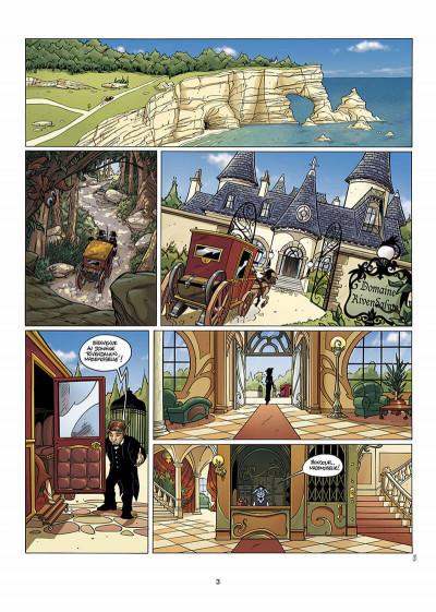 Page 4 les arcanes du midi-minuit tome 7 - l'affaire rivendalwn