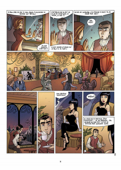 Page 9 les arcanes du midi-minuit tome 7 - l'affaire rivendalwn