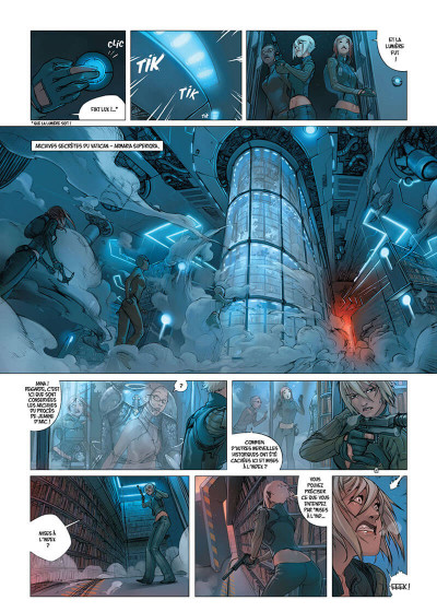 Page 9 Cross fire tome 4