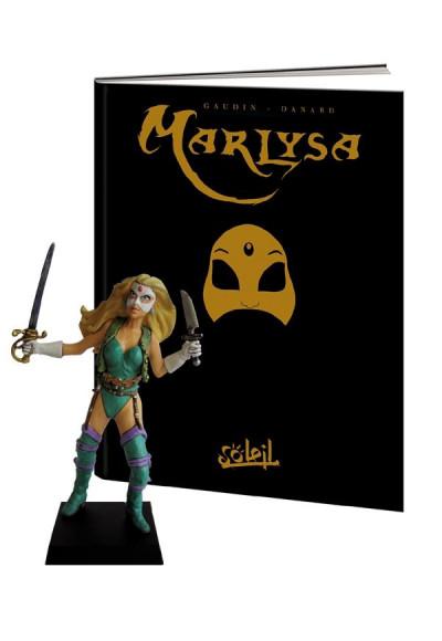 Couverture marlysa tome 1 - édition collector soleil 20 ans avec figurine