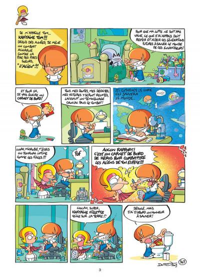Page 4 les p'tits diables tome 9 - interdit aux sœurs !