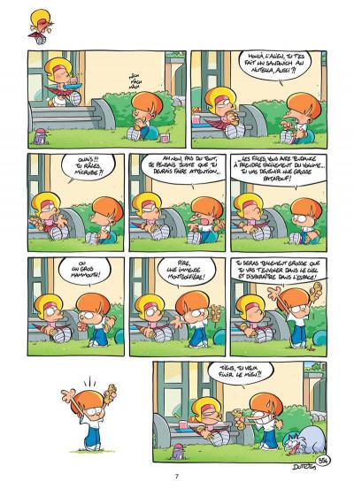 Page 8 les p'tits diables tome 9 - interdit aux sœurs !