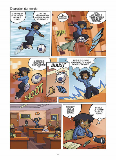 Page 5 foot 2 rue ; prolongations
