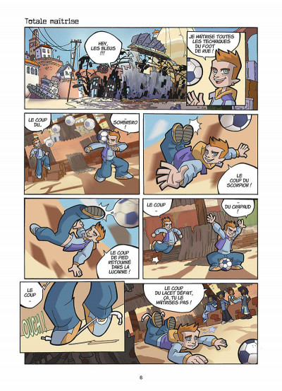 Page 7 foot 2 rue ; prolongations