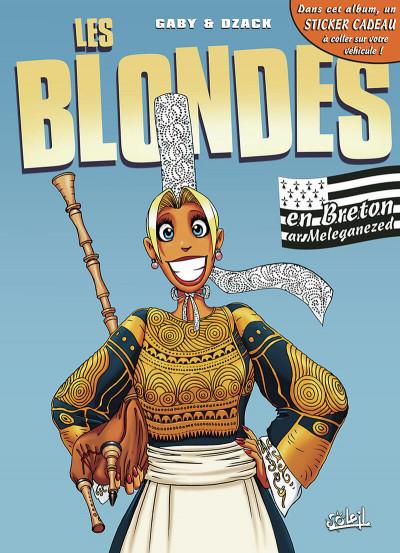 Couverture les blondes ; en breton
