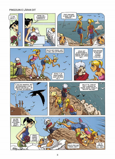 Page 4 les blondes ; en breton