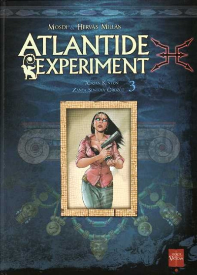 Couverture atlantide experiment tome 3
