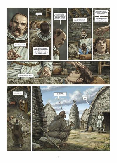 Page 5 les druides tome 5 - la pierre de destinée