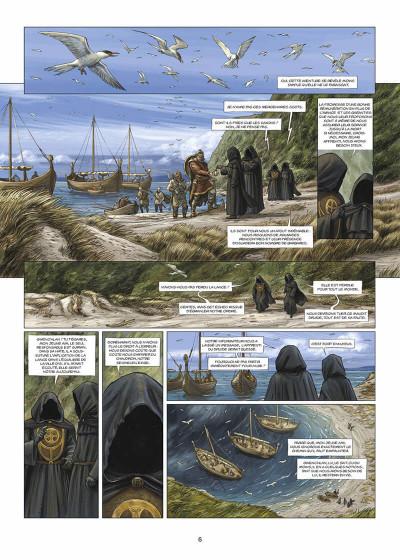 Page 7 les druides tome 5 - la pierre de destinée