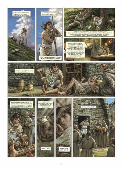 Page 8 les druides tome 5 - la pierre de destinée