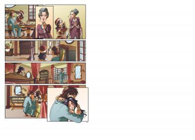 Page 1 princesse sara tome 1 - pour une mine de diamant