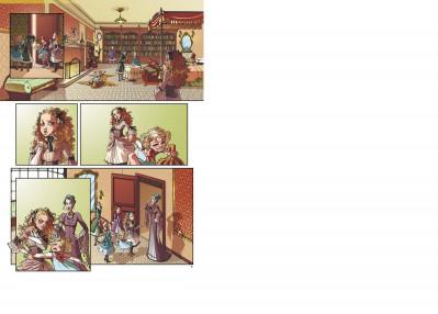 Page 2 princesse sara tome 1 - pour une mine de diamant