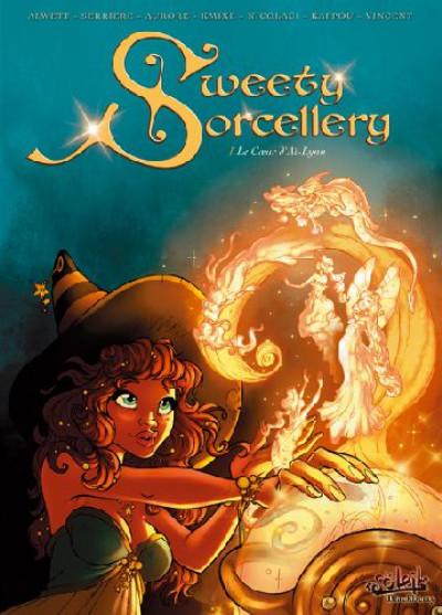 Couverture sweety sorcellerie tome 1 - le coeur d'aï-lynn
