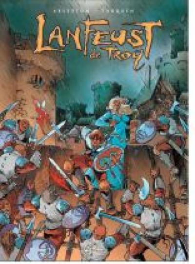 Couverture lanfeust de troy - coffret tome 1 à tome 4 (édition 2010)