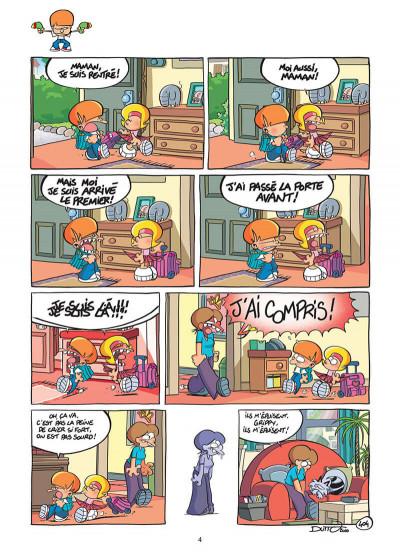 Page 5 les p'tits diables tome 10 - comment dompter son frère !!!