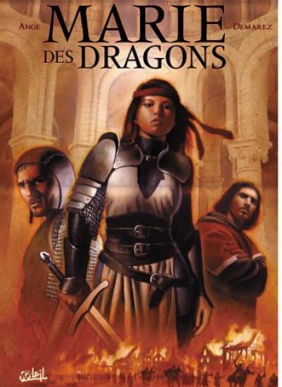 Couverture marie des dragons tome 1 - armance