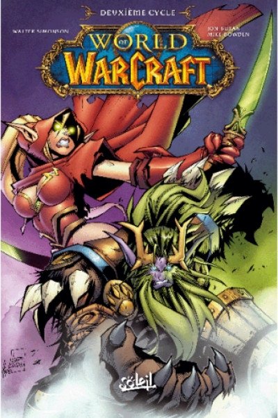 Couverture world of warcraft tome 2
