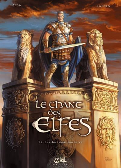 Couverture le chant des elfes tome 2 - les invasions barbares