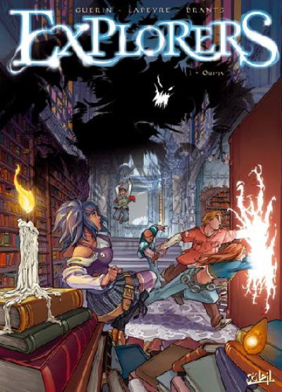 Couverture explorers tome 1 - ouija