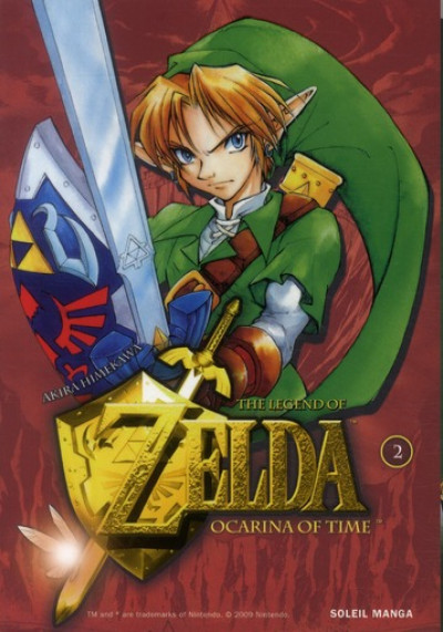 Couverture Zelda tome 3 - ocarina of time tome 2