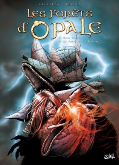 Couverture les forêts d'opale tome 5 à tome 6