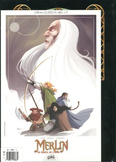 Dos merlin la quête de l'épée tome 1 - prophéthie (édition 2009)