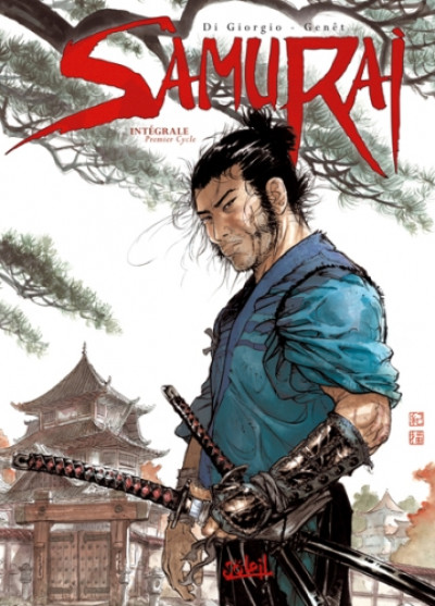 Couverture samuraï - intégrale 1er cycle tome 1 à tome 4