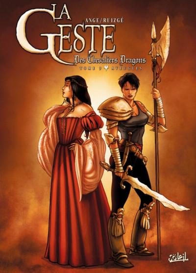 Couverture la geste des chevaliers dragons tome 9 - aveugles