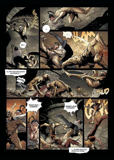 Page 5 la geste des chevaliers dragons tome 9 - aveugles