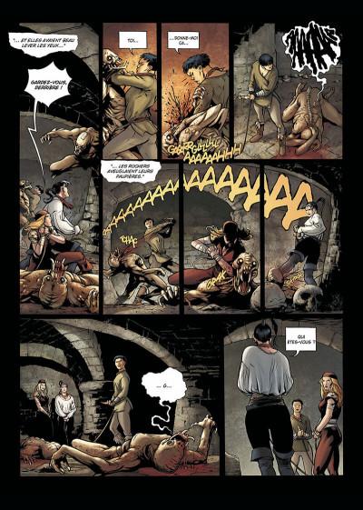 Page 6 la geste des chevaliers dragons tome 9 - aveugles
