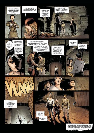 Page 7 la geste des chevaliers dragons tome 9 - aveugles