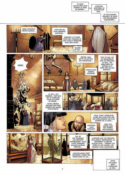 Page 8 la geste des chevaliers dragons tome 9 - aveugles