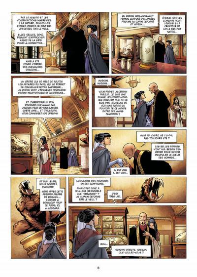 Page 9 la geste des chevaliers dragons tome 9 - aveugles
