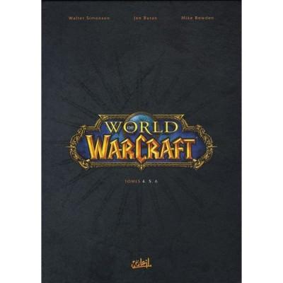 Couverture world of warcraft - coffret tome 4 à tome 6 (édition 2009)
