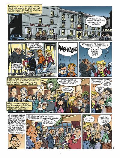 Page 8 léo loden tome 19 - spéculoos à la plancha