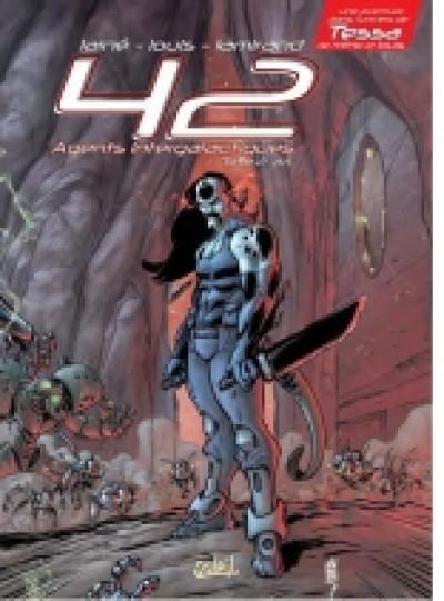 Couverture 42 agents intergalactiques tome 2 - ari