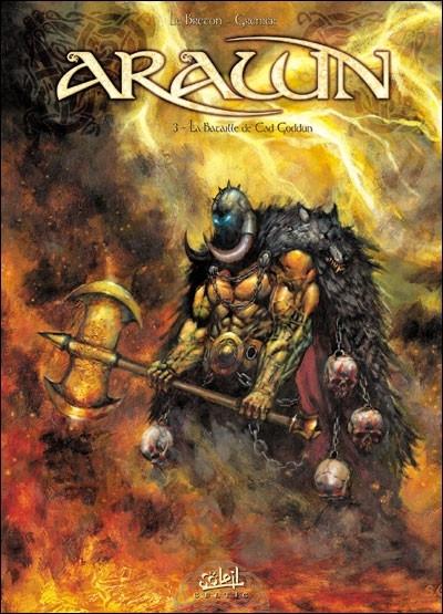 Couverture arawn tome 3 - la bataille de cad goddun