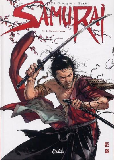 Couverture samuraï tome 5 - l'île sans nom