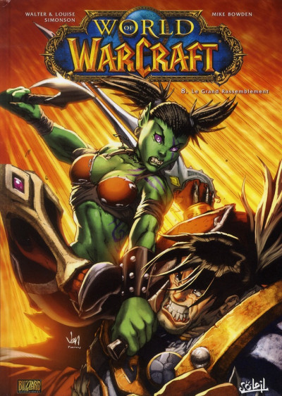 Couverture world of warcraft tome 8 - le grand rassemblement