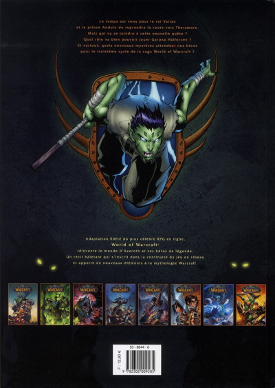 Dos world of warcraft tome 8 - le grand rassemblement