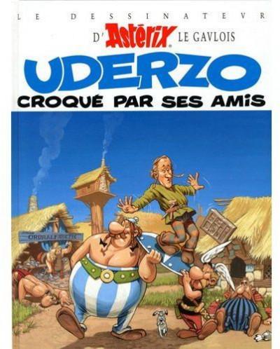 Couverture uderzo croqué par ses amis (édition 2009)