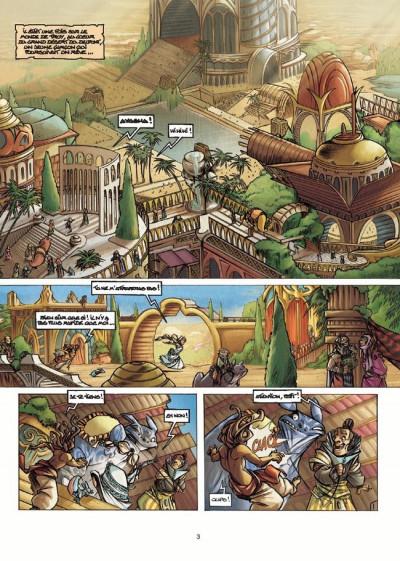 Couverture Tykko des sables tome 2 - La Cité engloutie (éd. 2010)