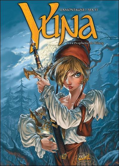 Couverture yuna tome 1 (édition 2010)