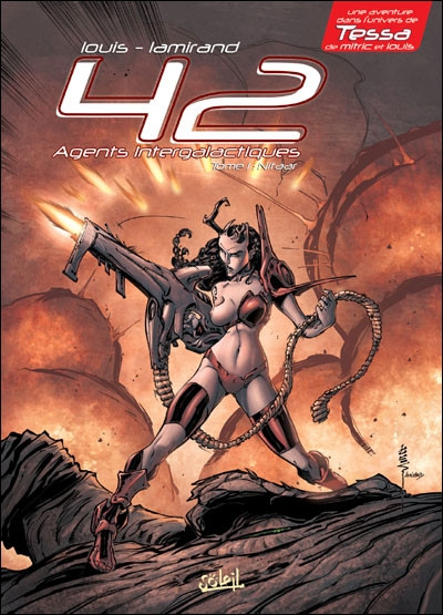 Couverture 42 agents intergalactiques tome 1 (édition 2010)