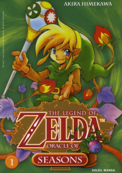 Couverture zelda tome 5 - oracle of seasons