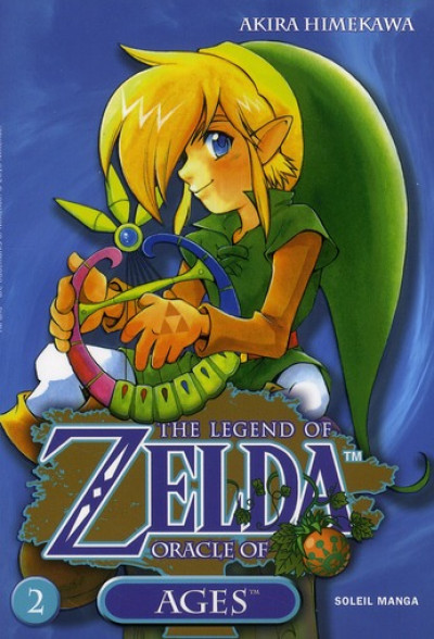 Couverture zelda tome 6 - oracle of ages